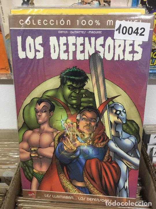 PANINI COLECCION 100% LOS DEFENSORES - LES LLAMABAN LOS DEFENSORES MUY BUEN ESTADO (Tebeos y Comics - Panini - Marvel Comic)