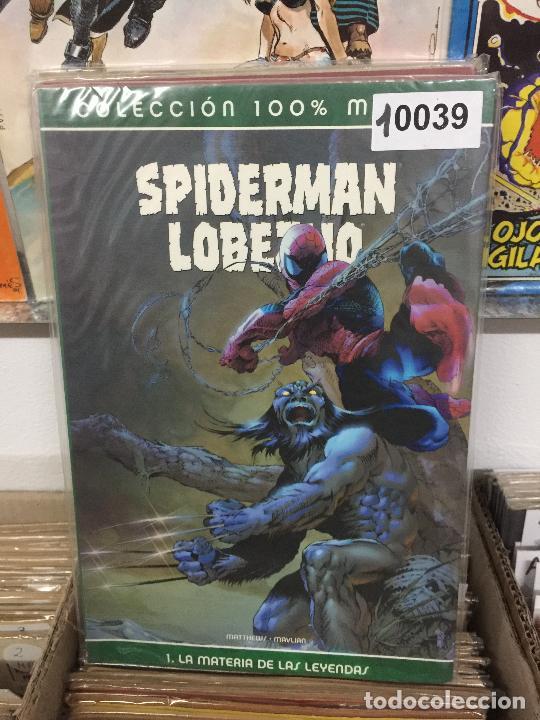 PANINI COLECCION 100% SPIDERMAN LOBEZNO - LA MATERIA DE LA LEYENDAS BUEN ESTADO (Tebeos y Comics - Panini - Marvel Comic)