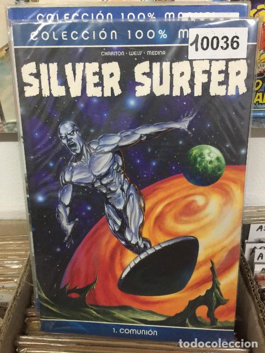 PANINI COLECCION 100% SILVER SURFER - COMUNION BUEN ESTADO (Tebeos y Comics - Panini - Marvel Comic)