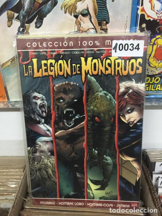PANINI COLECCION 100% LEGION DE MONSTRUOS BUEN ESTADO (Tebeos y Comics - Panini - Marvel Comic)