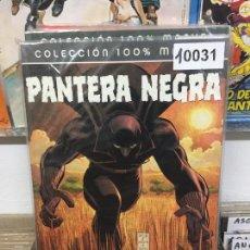 Cómics: PANINI COLECCION 100% PANTERA NEGRA ¿QUIEN ES PANTERA NEGRA? BUEN ESTADO. Lote 205537236