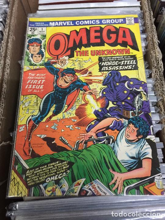MARVEL COMICS GROUP- OMEGA NUMERO 1 NORMAL ESTADO (Tebeos y Comics - Panini - Marvel Comic)