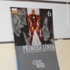 Cómics: PRIMERA LINEA Nº 6 CIVIL WAR - PANINI. Lote 205733655