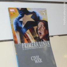 Cómics: PRIMERA LINEA Nº 5 CIVIL WAR - PANINI. Lote 205733871