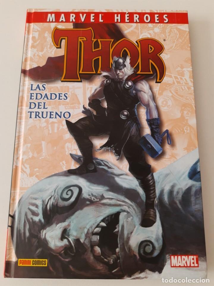 MARVEL HEROES. THOR. LAS EDADES DEL TRUENO (Tebeos y Comics - Panini - Marvel Comic)