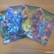 Cómics: MARVEL ZOMBIES COMPLETA - Nº 1, 2, 3 Y 4 - SECRET WARS - PANINI (L1). Lote 206124027