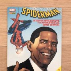Cómics: SPIDERMAN Y OBAMA - LA POLÍTICA NORTEAMERICANA Y LA ACTUALIDAD EN LOS CÓMICS MARVEL - INCLUYE 11S. Lote 206147348