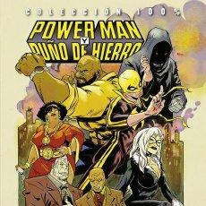 Cómics: 100% MARVEL HC. POWER MAN Y PUÑO DE HIERRO. TOMO 3. ARDE HARLEM. TOMO PANINI.. Lote 206252623