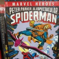 Cómics: MARVEL HEROES, PETER PARKER EL ESPECTACULAR SPIDEMAN, EDITORIAL PANINI.. Lote 206260820