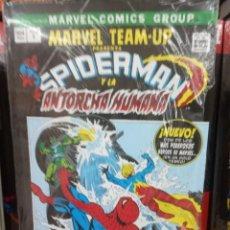 Cómics: MARVEL TEAM-UP, SPIDERMAN Y LA ANTORCHA HUMANA, EDITORIAL PNINI,. Lote 206265550