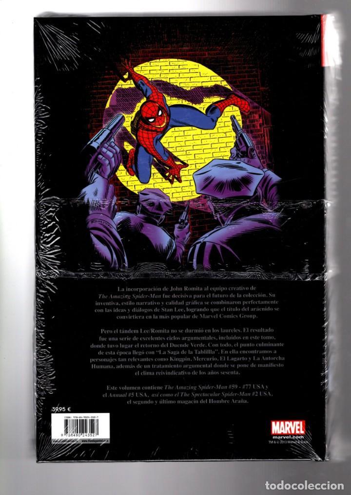 Cómics: EL ASOMBROSO SPIDERMAN 4 : CRISIS EN EL CAMPUS - PANINI / MARVEL OMNI GOLD / NUEVO Y PRECINTADO - Foto 2 - 184866530
