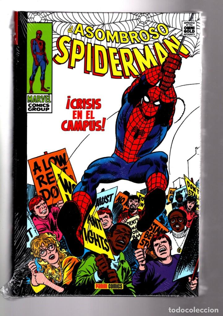 EL ASOMBROSO SPIDERMAN 4 : CRISIS EN EL CAMPUS - PANINI / MARVEL OMNI GOLD / NUEVO Y PRECINTADO (Tebeos y Comics - Panini - Marvel Comic)
