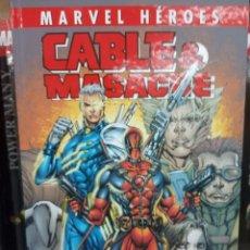 Cómics: MARVEL HÉROES, CABLE & MASACRE, TOMO 2 , EDITORIAL PANINI.. Lote 206322316