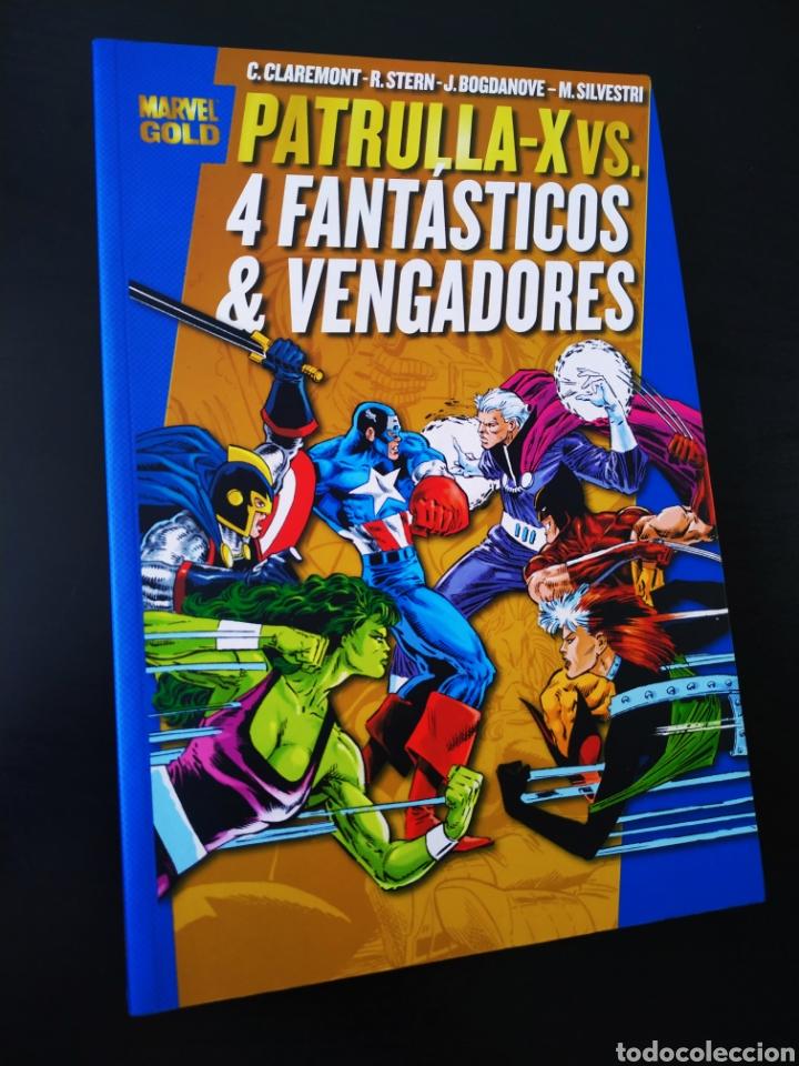 DE KIOSCO LA PATRULLA X VS LOS 4 FANTASTICOS Y LOS VENGADORES MARVEL GOLD PANINI COMICS (Tebeos y Comics - Panini - Marvel Comic)