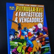 Cómics: DE KIOSCO LA PATRULLA X VS LOS 4 FANTASTICOS Y LOS VENGADORES MARVEL GOLD PANINI COMICS. Lote 206322817