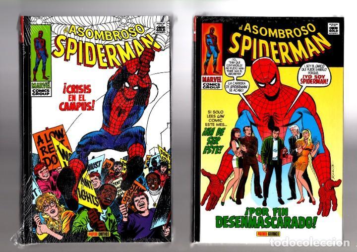 EL ASOMBROSO SPIDERMAN 4 Y 5 - PANINI / MARVEL OMNI GOLD / LOS CLASICOS DE STAN LEE Y JOHN ROMITA (Tebeos y Comics - Panini - Marvel Comic)