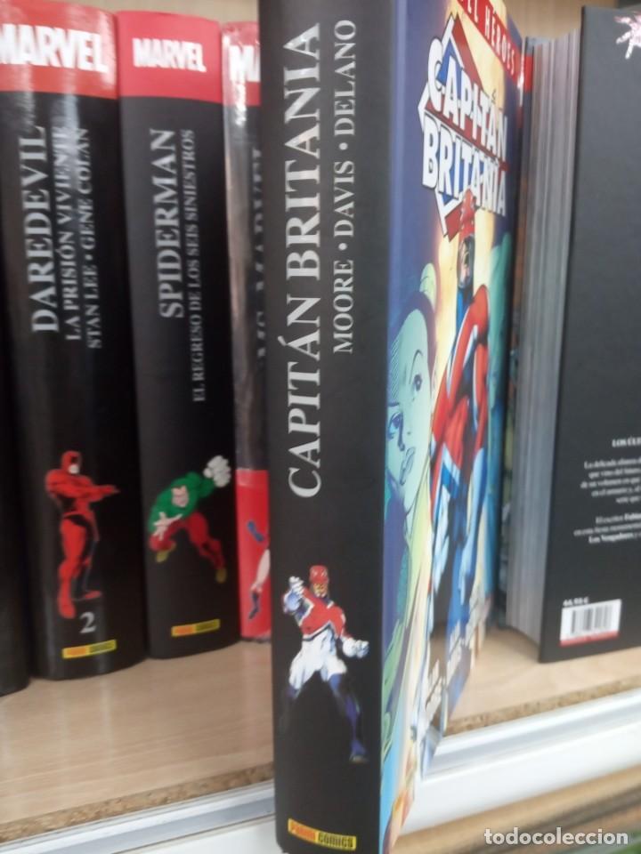 Cómics: Márvel Héroes, Capitán Britania, editorial Panini. - Foto 2 - 206323560