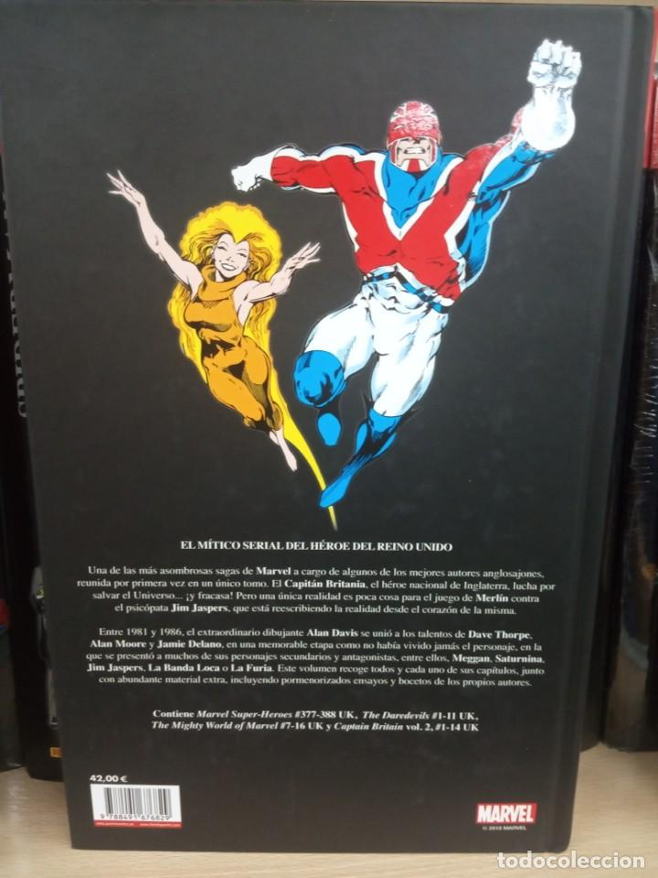 Cómics: Márvel Héroes, Capitán Britania, editorial Panini. - Foto 3 - 206323560