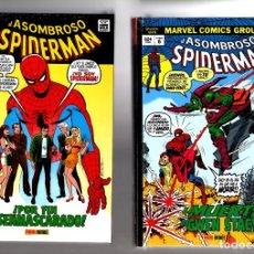 Cómics: EL ASOMBROSO SPIDERMAN 5 Y 6 - PANINI / MARVEL OMNI GOLD / MUERTES DE GWEN STACY Y EL CAPITAN STACY. Lote 206323927