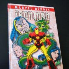 Cómics: PLASTIFICADO MARVEL HEROES IRON MAN LA SEMILLA DEL DRAGON PANINI COMICS. Lote 206324300