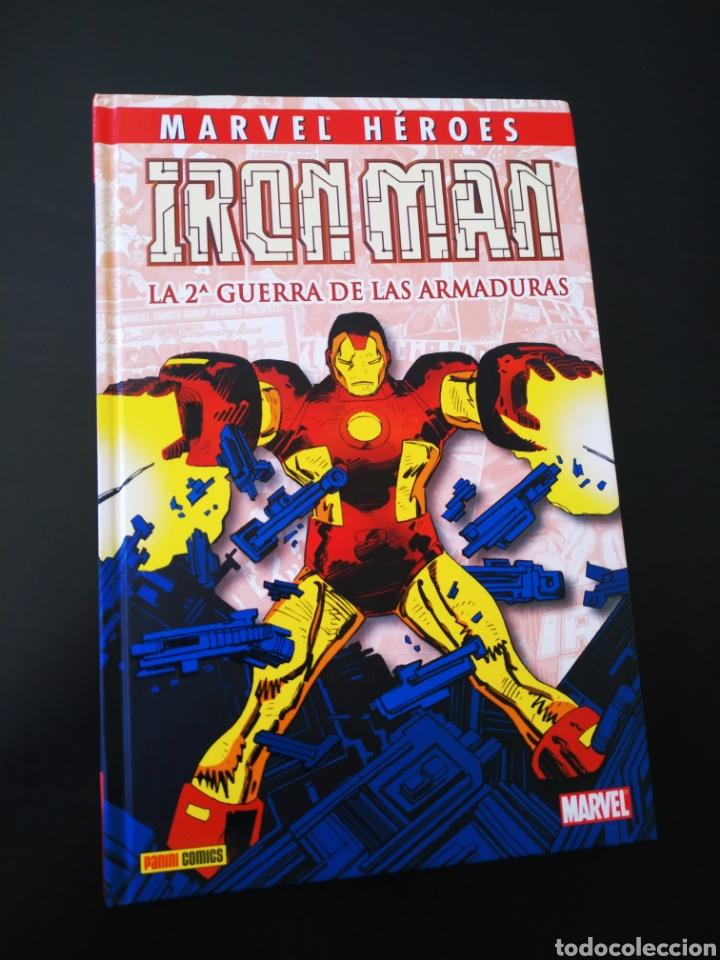 EXCELENTE ESTADO MARVEL HEROES IRON MAN LA 2° GUERRA DE LAS ARMADURAS PANINI COMICS (Tebeos y Comics - Panini - Marvel Comic)