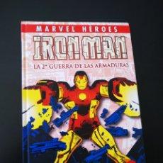 Cómics: EXCELENTE ESTADO MARVEL HEROES IRON MAN LA 2° GUERRA DE LAS ARMADURAS PANINI COMICS. Lote 206324598