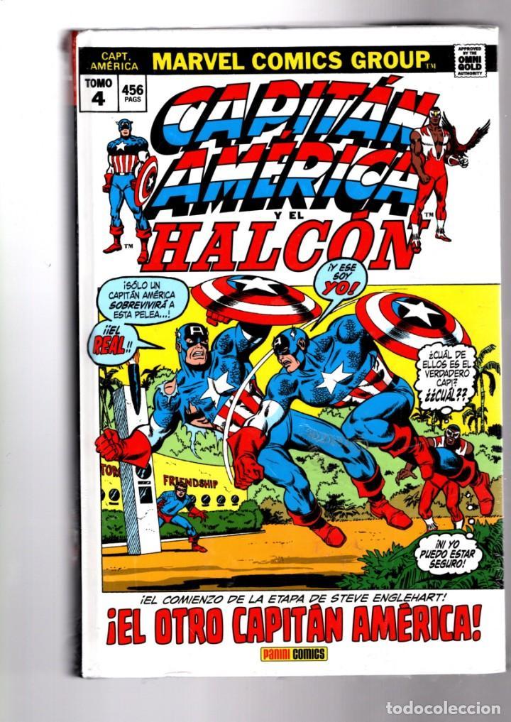 CAPITAN AMERICA 4 : EL OTRO CAPITAN - PANINI / MARVEL OMNI GOLD / TAPA DURA / NUEVO Y PRECINTADO (Tebeos y Comics - Panini - Marvel Comic)