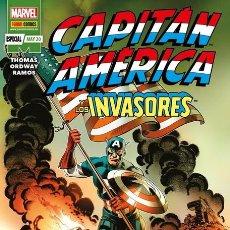 Cómics: CAPITAN AMERICA Y LOS INVASORES - PANINI / MARVEL GRAPA / MARVEL 80 ANIVERSARIO / NOVEDAD. Lote 206804250