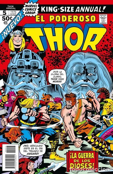 THOR ANNUAL 5 - PANINI / MARVEL FACSIMIL GRAPA (Tebeos y Comics - Panini - Marvel Comic)