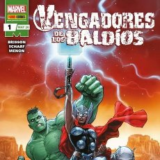 Cómics: VENGADORES DE LOS BALDIOS 1 - PANINI / MARVEL GRAPA. Lote 206806337