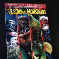 Cómics: EXCELENTE ESTADO LA LEGION DE MONSTRUOS COLECCION 100% MARVEL PANINI COMICS. Lote 206847406