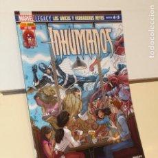 Cómics: INHUMANOS Nº 50 LOS UNICOS Y VERDADEROS REYES PARTES 4 Y 5 - PANINI. Lote 207231838