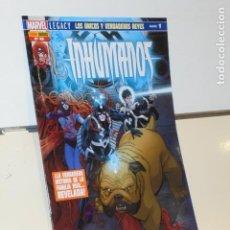 Cómics: INHUMANOS Nº 48 LOS UNICOS Y VERDADEROS REYES PARTE 1 - PANINI. Lote 207232276