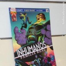 Cómics: INHUMANOS Nº 46 FUEGO DIVINO PARTES 3 Y 4 - PANINI. Lote 207232500