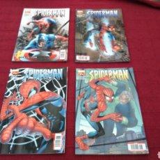 Cómics: SPIDERMAN LOMO AZUL MARVEL PANINI COMIC AŇO 1 NÚMEROS 37, 38,39 Y 40 BUEN ESTADO. Lote 207606051