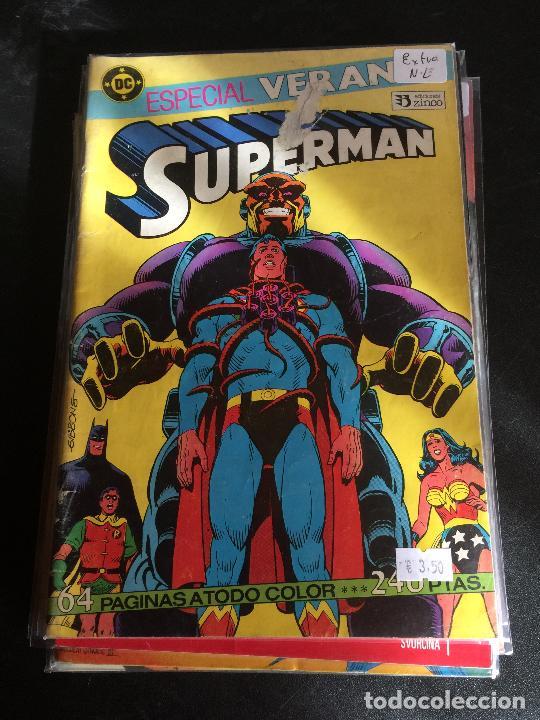 ZINCO DC SUPERMAN NUMERO EXTRA VERANO NORMAL ESTADO (Tebeos y Comics - Panini - Marvel Comic)