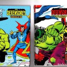 Cómics: LOS DEFENSORES 1 Y 2 - PANINI / MARVEL LIMITED EDITION / TAPA DURA / NUEVOS Y PRECINTADOS. Lote 207853345