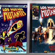 Cómics: LOS NUEVOS MUTANTES 1 Y 2 - PANINI / MARVEL OMNI GOLD / NUEVOS Y PRECINTADOS. Lote 207854555