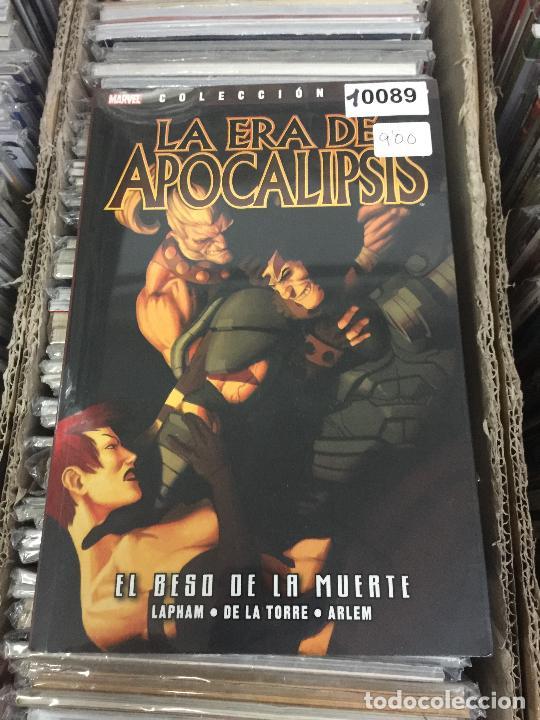 COLECCION 100% MARVEL LA ERA DE APOCALIPSIS - EL BESO DE LA MUERTE BUEN ESTADO (Tebeos y Comics - Panini - Marvel Comic)