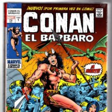 Cómics: CONAN EL BÁRBARO 1 : LA LLEGADA - PANINI / ETAPA MARVEL ORIGINAL OMNIBUS / NUEVO Y PRECINTADO. Lote 208676063