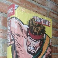 Cómics: LOS CAMPEONES MARVEL LIMITED EDITION PRECINTADO IMPECABLE. Lote 208877616