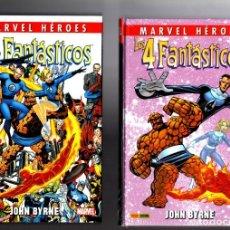 Cómics: LOS CUATRO FANTASTICOS DE JOHN BYRNE 1 2 3 4 COMPLETA - PANINI / MARVEL HEROES /NUEVOS Y PRECINTADOS. Lote 243154060