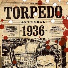 Cómics: TORPEDO 1936: INTEGRAL. Lote 209580580
