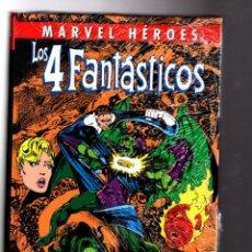 Cómics: LOS CUATRO FANTASTICOS DE JOHN BYRNE 4 - PANINI / MARVEL HEROES 62 / TAPA DURA / NUEVO Y PRECINTADO. Lote 183464365