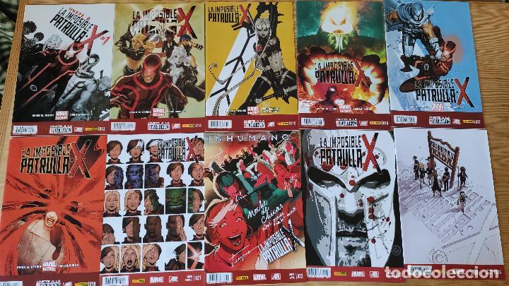 LA IMPOSIBLE PATRULLA-X (13-18+21-40+46), DE PANINI COMICS (ETAPA BRIAN MICHAEL BENDIS COMPLETA) (Tebeos y Comics - Panini - Marvel Comic)