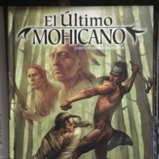 Cómics: CLÁSICOS ILUSTRADOS MARVEL. EL ÚLTIMO MOHICANO, DE ROY THOMAS, CAM SMITH, Y STEVE KURTH. Lote 209962208