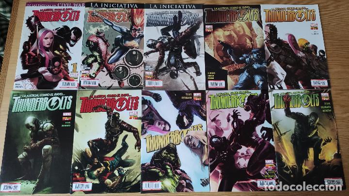 THUNDERBOLTS (1-10), DE PANINI COMICS (WARREN ELLIS & MIKE DEODATO JR) (Tebeos y Comics - Panini - Marvel Comic)
