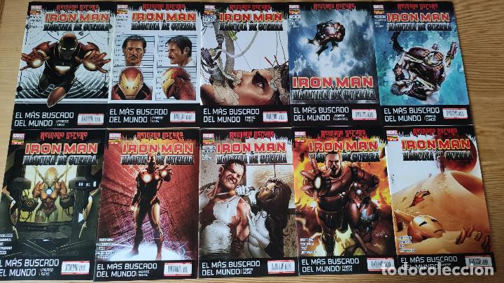 INVENCIBLE IRON MAN VOL 1 (20-36), DE PANINI COMICS (ETAPA MATT FRACTION COMPLETA ) (Tebeos y Comics - Panini - Marvel Comic)