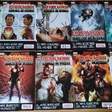 Cómics: INVENCIBLE IRON MAN VOL 1 (20-36), DE PANINI COMICS (ETAPA MATT FRACTION COMPLETA ). Lote 210145492
