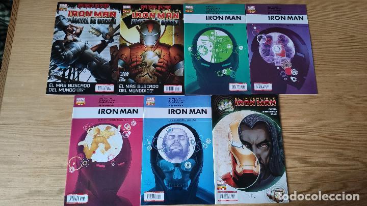 Cómics: Invencible Iron Man Vol 1 (20-36), de Panini Comics (Etapa Matt Fraction Completa ) - Foto 2 - 210145492